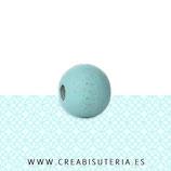 Madera abalorio azul bebé  (50 unidades)  MAD-C54960