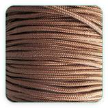 Cordón de Nylon de Escalada Redondo 3mm beis/camel (3 metros)