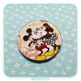 Cabuchón ilustrado Mickey y Minnie