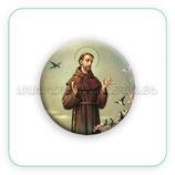 Cabuchón Cristal Religión - San francisco de Asís