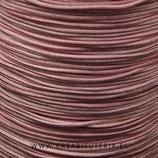 Cordón macramé 1mm  Calidad Suprema  Color Rosa Vintage  (5 metros)