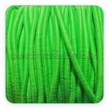 Cordón de goma verde claro - fluor 2mm (4 metros)