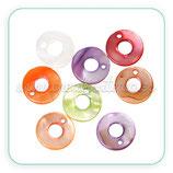 Concha en forma de círculo hueco (10 unidades) CONCH-circulo hueco