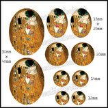Imagen Klimt El Beso Monotema