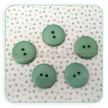 Botones redondos turquesa BOTOOO-L15 (10 unidades)
