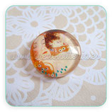 Cabuchón Cristal ilustrado La Maternidad de Klimt