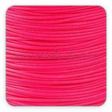 Cordón plastificado rosa fucsia finito 1mm (4 metros)
