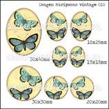 Imagen Mariposas Vintage 010