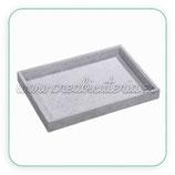 Expositor bandeja terciopelo gris  EXPEXP-CN008-06