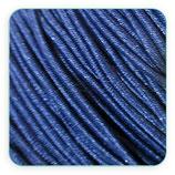 Cordón de goma AZUL MARINO 1,5mm (4 metros)