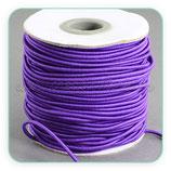 Cordón de goma violeta  2mm