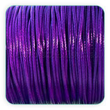 Cordón plastificado morado 1,5mm