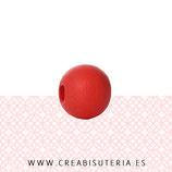 Madera abalorio rojo  (50 unidades)  MAD-C54964