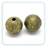 Entrepieza bola bronce metal efecto purpuirina 10x10mm (10 piezas) ENTOOO-C20292