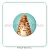 Cabuchón Cristal Religión - Virgen del Rocío