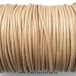 Cordón Algodón 1,5mm  beis  Deluxe - COR-RODELUX ( 4 metros)