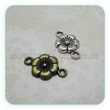 CONECTOR/A/ - 007/008 flor pequeña CONOOO-C02960b (10 unidades)