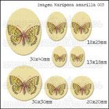 Imagen Mariposa Amarilla 003