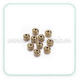 Entrepieza dorada - DO1-  farolitos minis  P167Y  (20 unidades)
