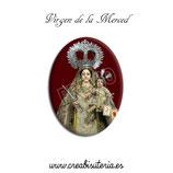 Cabuchón Cristal Religión - Nuestra Señora de la Merced