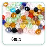 Abalorio cristal facetado 6mm ABA-C05112