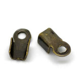 Terminal 6x3mm (mini) bronce antiguo(30Unid) ACCTER-C20768