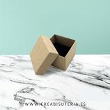 Caja almacenaje cartón craft pequeña 5x5cm  - unidad