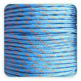 Cordón de Nylon de Escalada Redondo 3mm Azul (3 metros)