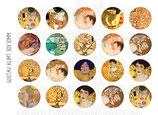 20 Obras Gustav Klimt 30mm