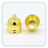 Terminal dorado interior 10mm  1par ACCTER-PD217 (2 piezas)
