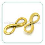 CONECTOR/B/016 - INFINITO mediano dorado-C20955