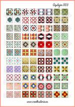 Lámina azulejos vintage 003