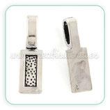Util- Soporte para colgante plata vieja ACCOTR-PR336-042AS-LF (10 piezas)