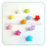 FLORLUCIT 50 MINI  MIX COLOR mates 10x4mm (20 Unidades)