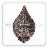 Filigrana x - x -  lágrima /gota grande ornamentos cobre  C0113755 (4 unidades)