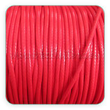 Cordón plastificado rojo 2mm