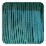 Antelina verde turquesa oscuro 1 metro  COR-Ant-m