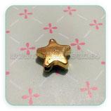 Entrepieza dorada - DO1- 05 - ESTRELLA -  ENTOOO-P123244  (10 piezas)