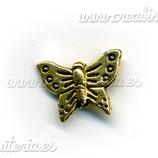 ENT METAL P3 43 Entrepieza mariposa oro viejo ENTOOO-C01002