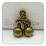 Charm cereza bronce antiguo antiguoII  CHAOOO-C2906