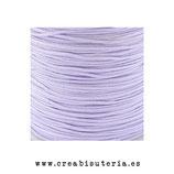 Cordón macramé 1mm  Calidad Suprema soft Color lavanda claro (5 metros)