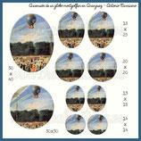 Imagen Ascensión de un globo Montgolfier en Aranjuez, 1784 (Antonio Carnicero)