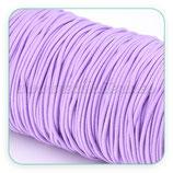 Cordón de goma lila claro 2mm (15 metros)