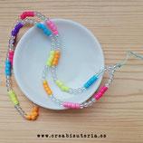 Cuelgamóviles multicolor acrílico Tamaño largo  - Modelo Colores & Burbujas