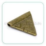 Entrepieza B3 - 34 - triangular tipo banderin tribal (20 unidad) ENTOOO-C14490