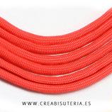 CESCALADA038 - Cordón de Nylon de Escalada  4mm  Modelo Rojo  (3 Metros)