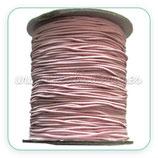 Cordón de goma rosa clarito 1,2mm (15 metros)