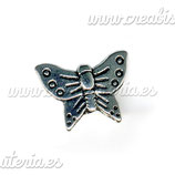 ENT METAL P3 43 Entrepieza mariposa plata ENTOOO-C00581