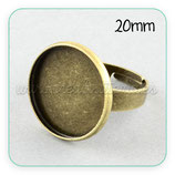 Anillo bronce antiguo 20mm ANIOOO-C20900
