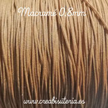 Cordón macramé 0,8mm  Color Camel  (5 metros)